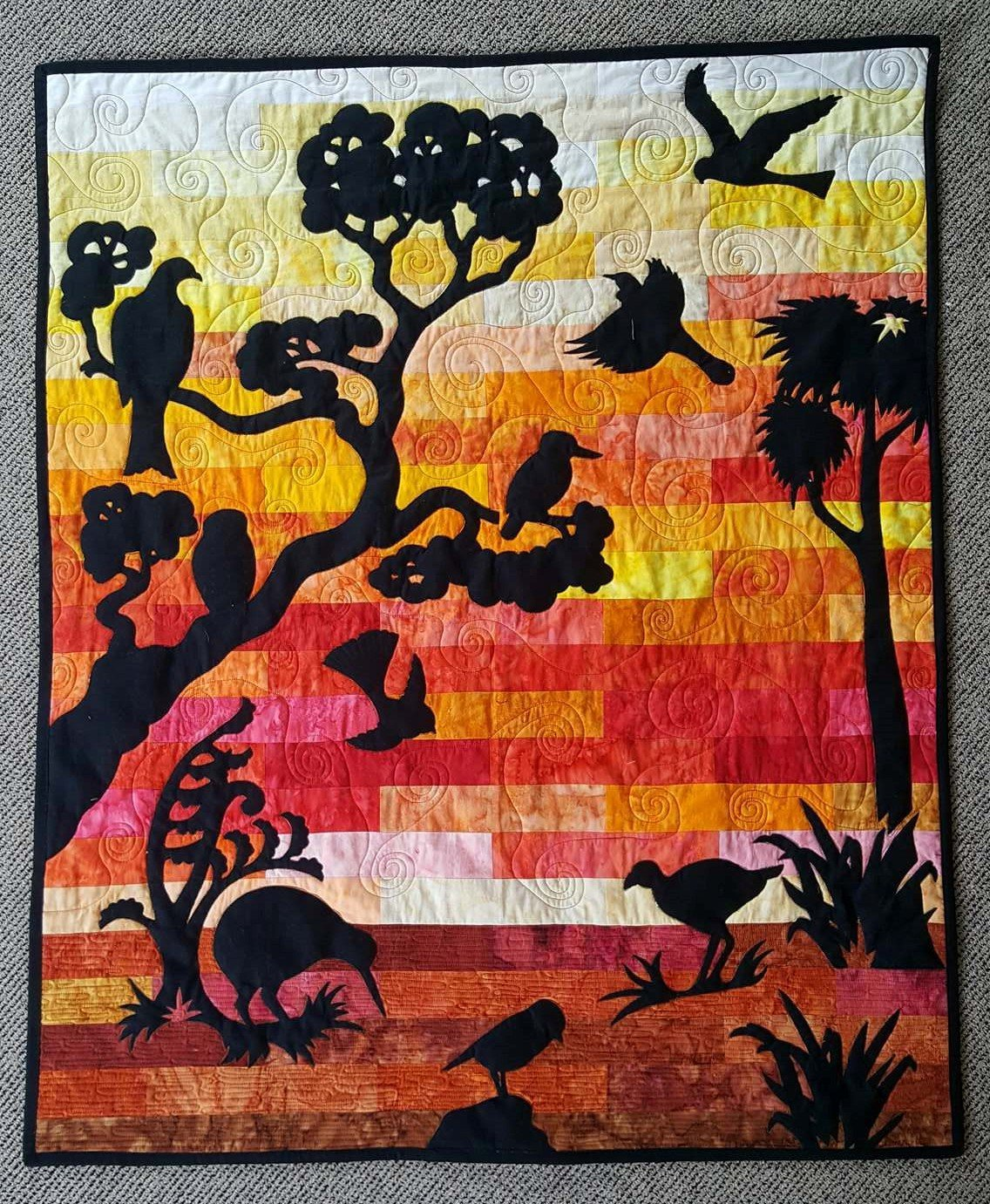 Sunset in Northland Wall Hanging Kit
