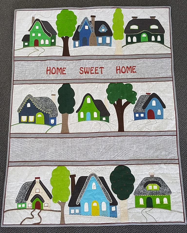 Remember to sign up for our new #homesweethome quilt.This is a fabulous opportunity to learn your Bernina Sewing Machine's features while having fun with your sewing. Come and talk with Sandy