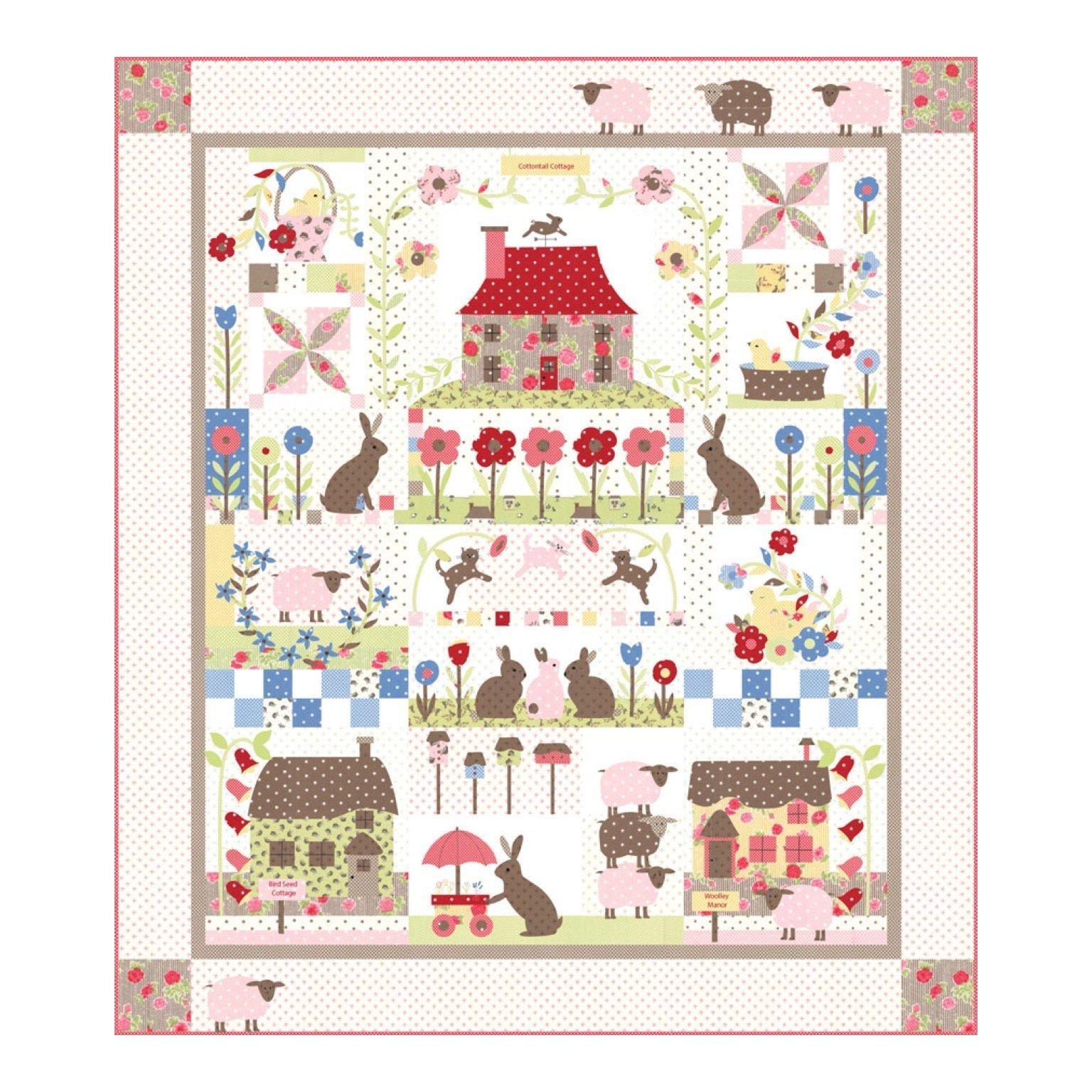 Cottontail Cottage Quilt Kit