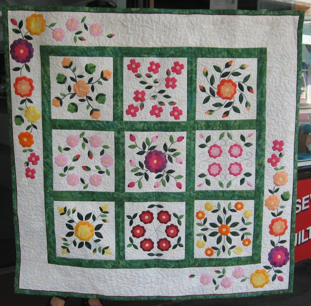 A Rose By Any Other Name Quilt Kit