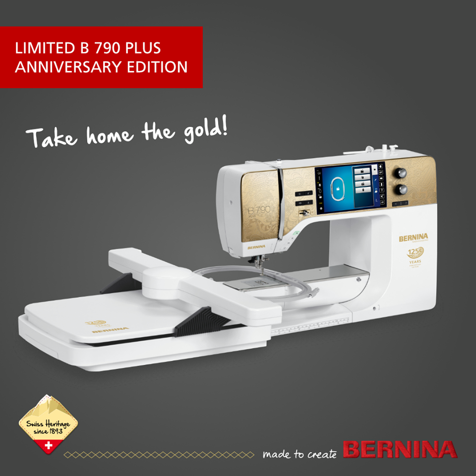BERNINA 790 PLUS Anniversary Edition