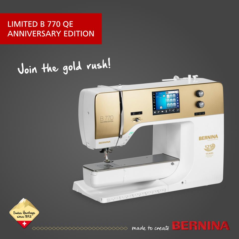 BERNINA 770 QE Anniversary Edition