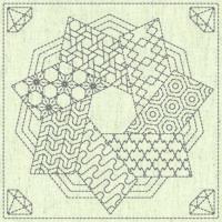 Sashiko Cloth – Kaza Guruma 4